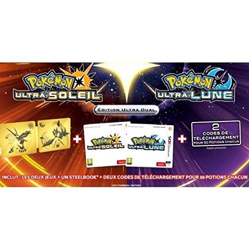 Pokémon Ultrasol y Ultraluna Edición Ultra Dual