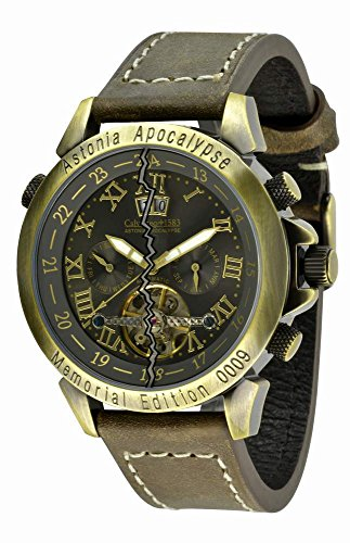 Calvaneo 1583 Astonia 'Apocalypse Bronze' End of World 2012 Edition Automatikuhr