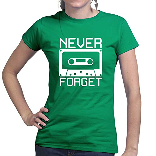 Never Forget Cassette Tape T-shirt. Many Colours XS to XXL