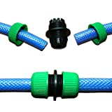 #4: Alcoa Prime High Quality 1/2' ' Garden Water Hose Connector Pipe Quick Connectors Joining Mender Repair Leaking Joiner Connector Adapter