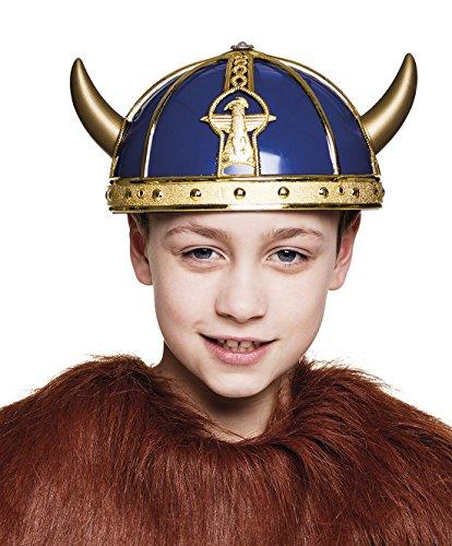 erdbeerloft - Kinder Wikinger Kostüm Game of Thrones Viking Helm, (Viking Womens Kostüme Halloween)