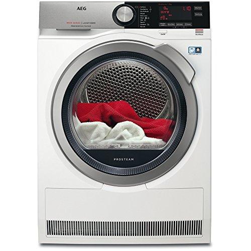 AEG AbsoluteCare Technology T8DEC946S Heat Pump Tumble Dryer White