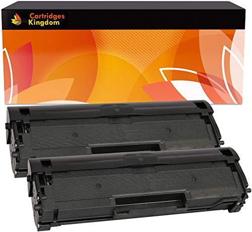Cartridges kingdom mlt-d111s kit 2 toner compatibili per samsung xpress m2020, 2020w, 2021, 2021w, 2022, 2022w, 2026, 2026w, 2070, 2070w, 2070fw, 2070f, 2070fh, 2070hw, 2071