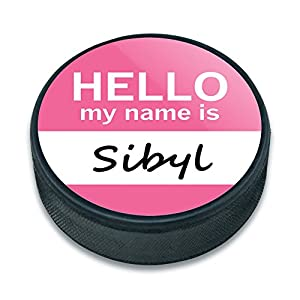 EISHOCKEY Puck Hello My Name Is si-sy