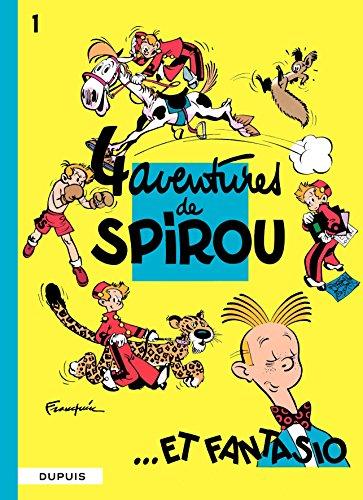 Spirou et Fantasio - Tome 1 - 4 AVENTURES DE SPIROU ET FANTASIO par Franquin