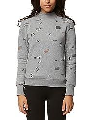 Bench Damen Sweatshirt Velvet Embroidery Jumper