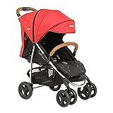 Bebé Due 10200 Viva - Sillas de paseo, Rojo/Negro