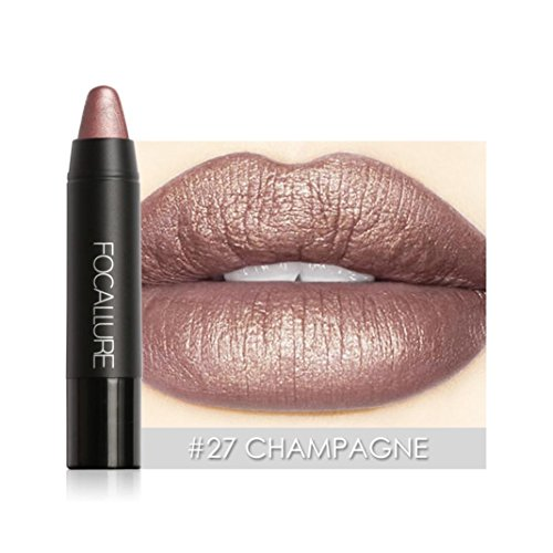 ESAILQ Matte Lippenstift Stift Wasserdichte dauerhafte 8 Farbe Optionale Lippen Make-up