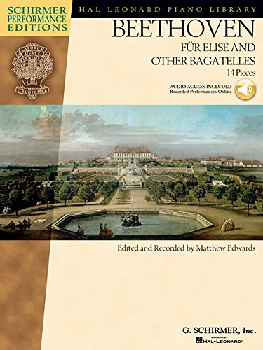 Bagatelles (Book & Online Audio): Noten, Sammelband, Download (Audio) für Klavier (Hal Leonard Piano Library) ()