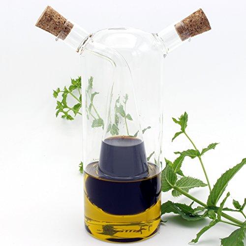 (Essig Öl Karaffe Flasche Spender (280ml - 80ml, 2in1))