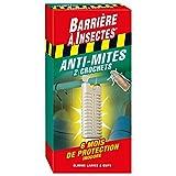 Barriere A Insekten barmivet2Motten der Kleidung–2Haken rot 9,5x 3x 19,5cm