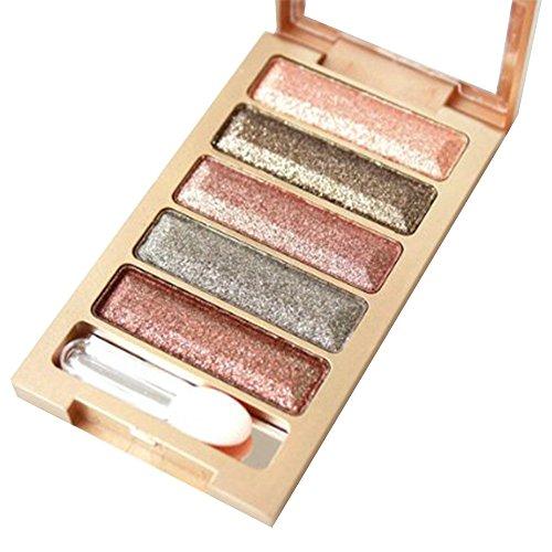 Contever® 5 Colori Nudes Palette Ombretti Cosmetic Makeup #7