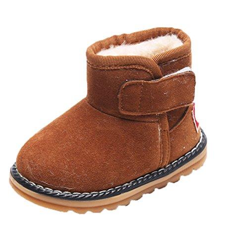 HENGSONG Winter Baby Schuhe Kinder Mädchen Jungen Stiefel Warm Schneestiefel