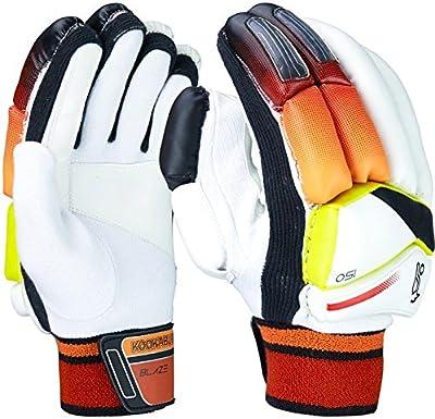 Kookaburra Blaze 150–Guantes de bateo para críquet para hombre de la mano izquierda