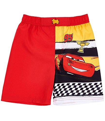 Disney cars ragazzi shorts da mare - rosso - 104