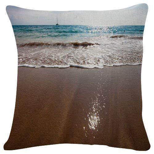 Bali Spa Resort (Hectwya Ayana Resort Spa, Bali Beach - #24679 - Plush Decorative Pillow Case Cushion Cover 18 x 18 Inch for Couch Bench Sofa)