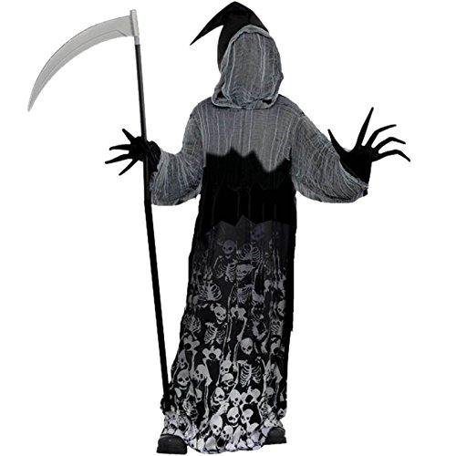 Dunkler Schatten-Sensenmann Halloween Kostüm Kinder Amscan (Schatten Kinder Kostüm)