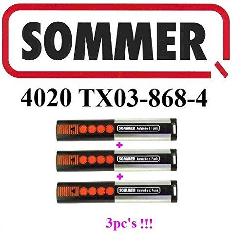 3 Stück Sommer Handsender 4020 TX03-868-4