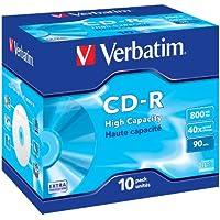 Verbatim 43428 800MB DataLife CD-R - Jewel Cased 10 Pack
