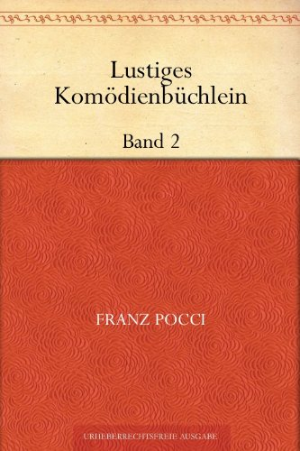 Lustiges Komödienbüchlein - Band 2