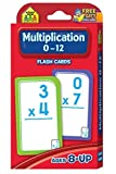 Multiplication 0-12 Flash Cards by School Zone Publishing Company Staff (2015-05-15)