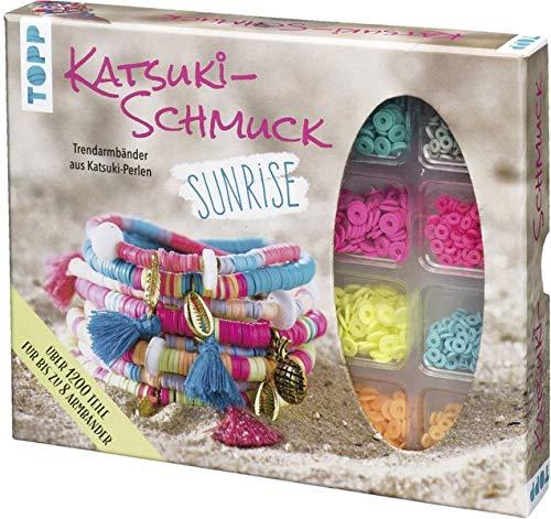 Katsuki Schmuckset Sunrise: Anleitung und Material für bis zu 8 Katsuki-Armbänder zum Selbermachen