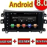 ROADYAKO Android 8.0 Auto Media Für Nissan Navara 2016 Linkslenker Autoradio Stereo Mit GPS Navigation 3G WiFi Spiegel Link RDS FM Bluetooth