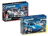 PLAYMOBIL - Porsche Set: 5991 Porsche 911 Targa 4S + 9225 Porsche 911...
