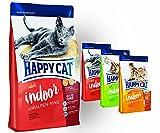 Happy Cat INDOOR Voralpen Rind 10 kg + 3 x 300g