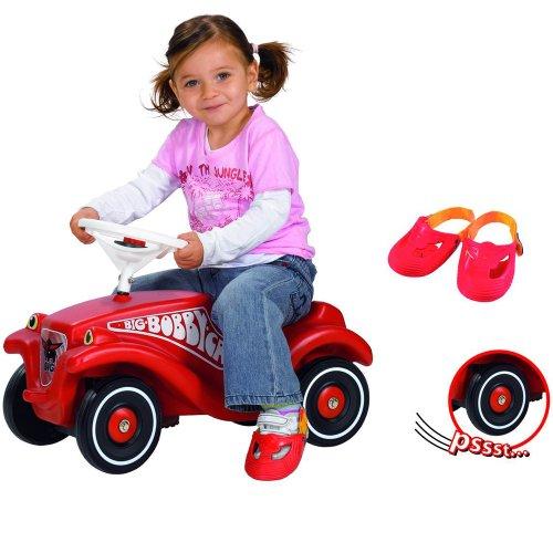 Hummelladen    Bobby Vorteils Paket mit Flüsterräder und Shuhschoner    Car Classic Baby Rutscher Rutschauto Flüsterreifen