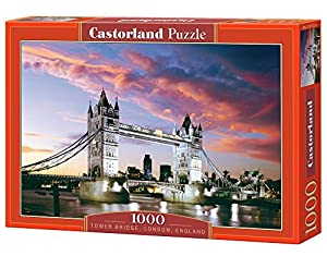 CASTORLAND Tower Bridge, London, England 1000 pcs Puzzle - Rompecabezas (London, England 1000 pcs, Puzzle Rompecabezas, Paisaje, Niños y Adultos, Niño/niña, 9 año(s), Interior)
