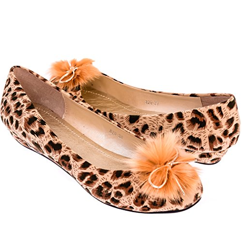 Ça Va Bien Fashion, Ballerine Donna Tan