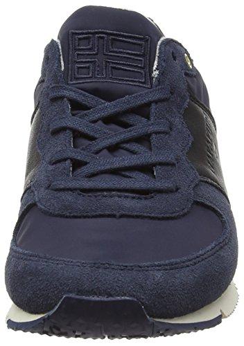 Napapijri Marit, Baskets Basses femme Bleu - Blau (blue graphite N60)