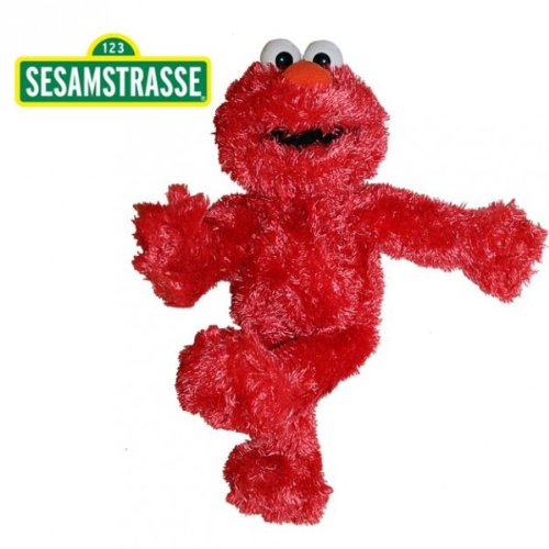 Sesamstrasse - Plüsch Figur Handpuppe Elmo 35 cm
