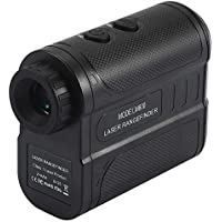 leegoal Entfernungsmesser 656 Yards /600 Meters Waterproof IP54 Hunting Range Finder with 6X Magnification Lens/Flag-Lock/Distance/Fog/Speed and Continuous Measurement for Golf/Survey