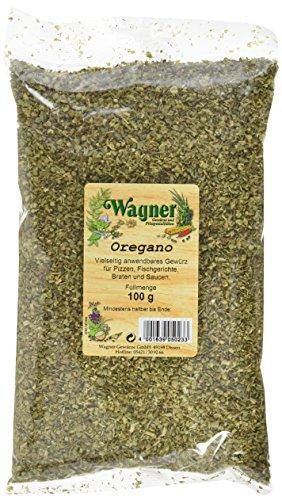 Wagner Gewürze Oregano 2 x 100 g getrockneter Oregano für italieniesche und griechische Gerichte