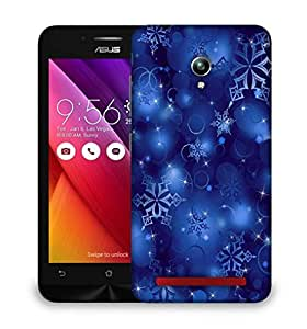 Snoogg snowflakes 2699 Designer Protective Back Case Cover For Asus Zenfone GO