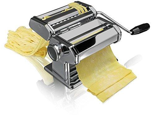 Machines de pâtes Tivoli/préparer frais maison passé/20, 5 x 20 x 15, 5 cm/rapide et facile pâtes fraîches/métal chromé