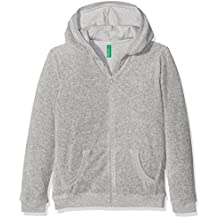 United Colors of Benetton Jacket W/Hood L/S, Chaqueta para Niñas