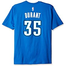Kevin Durant Oklahoma City Thunder Adidas NBA Player T-shirt camisa - Light Blue