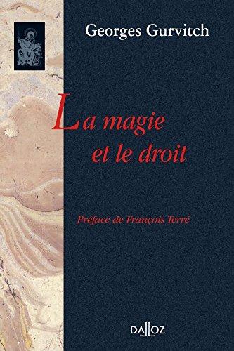 La Magie et le Droit par Georges Gurvitch
