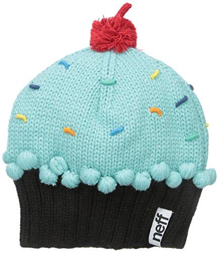Neff Damen Mütze Cupcake Beanie Mehrfarbig türkis One Size