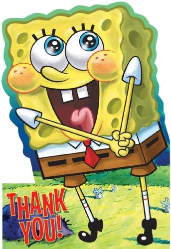 (SpongeBob Thank You Notes w/ Envelopes (8ct))