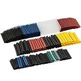 FREESOO 580pcs Termorestringenti Tubo 2:1H 1-10mm Kit 6 Colori 11 Taglie Senza Alogeni Protezione dell'Ambiente