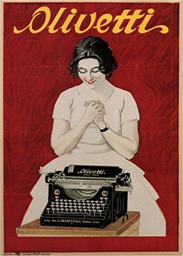Usato, Vintage stampa cancelleria e macchine da scrivere olivetti, usato  Spedito ovunque in Italia