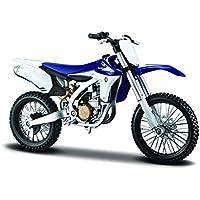 Maisto Kit de Montaje del Modelo Yamaha YZ450F, Escala 1:12 (39195)