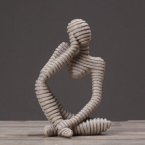 MERRYHE Moderna Scultura Creativa Ornamento In Resina Statua...