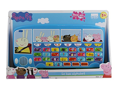 Peppa Pig KD KD-s15660-Bus Alfabeto, s15660