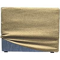 Preisvergleich für Arketi-com Bezug für Touf, für Betten die sich in Sitzkissen verwandeln, in verschiedenen Farben und Größen erhältlich 80x63x45 Crudo 80cm