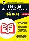 Les Clés de la langue française pour les Nuls, Grand format par Julaud